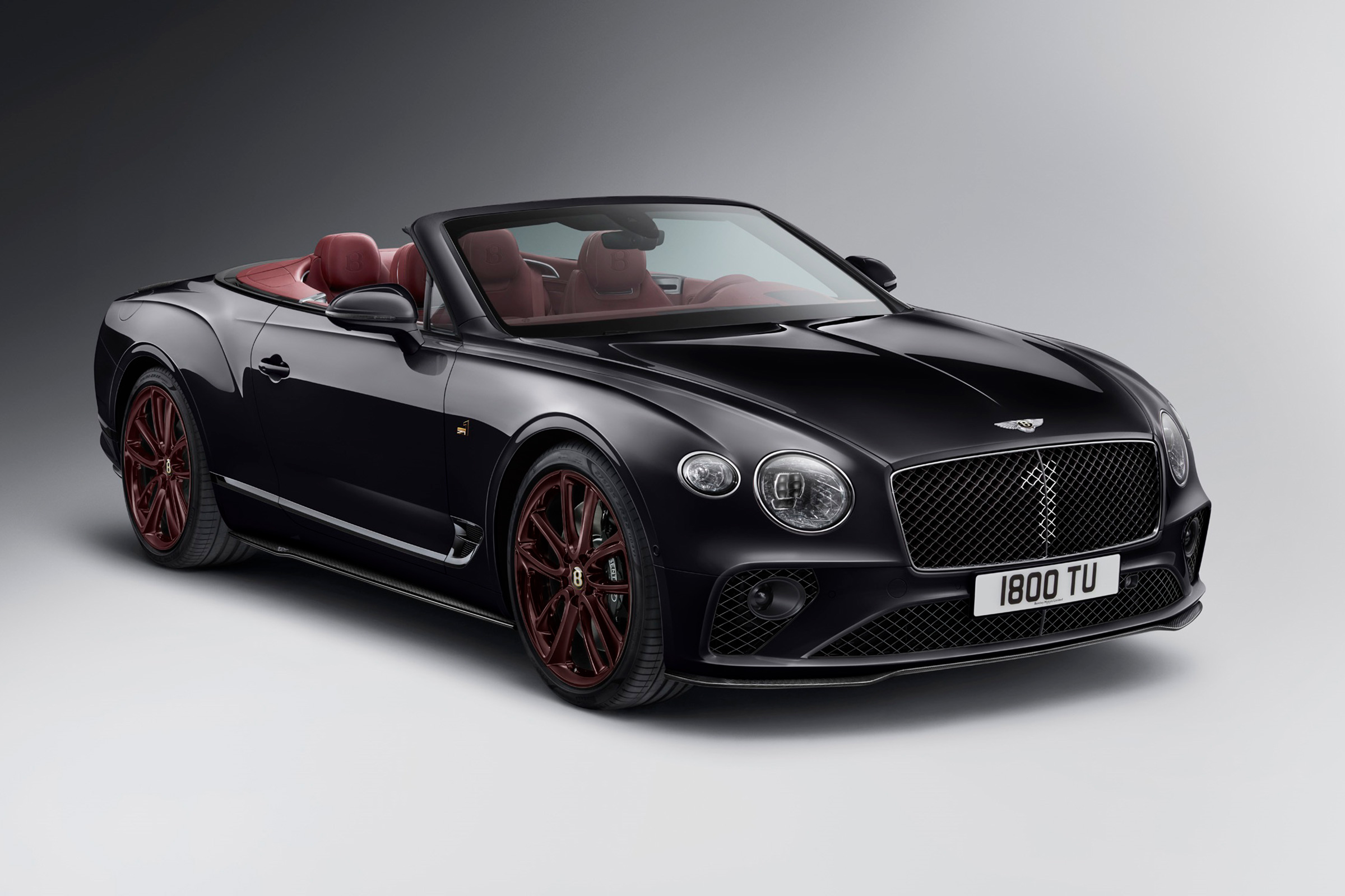 Bentley Continental Gt Convertible Number 1 Edition Revealed Evo