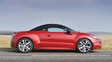 2013 Peugeot RCZ THP 200 GT side profile