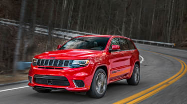 Jeep Grand Cherokee Trackhawk - front driving