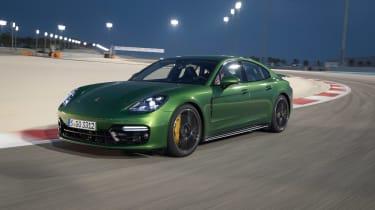Porsche Panamera GTS - front quarter