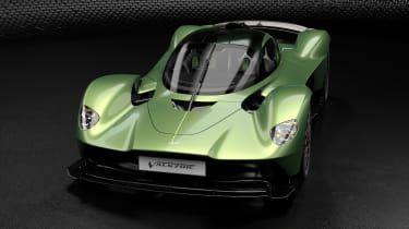 Aston Martin Valkyrie Q by AM - green front