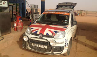 Fiat Panda Africa record run - Weekend update
