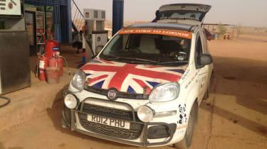 Fiat Panda Africa record run - Weekend update