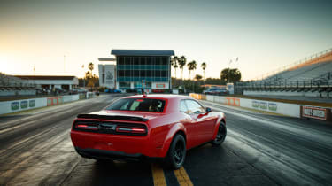 Dodge Demon static rear 3