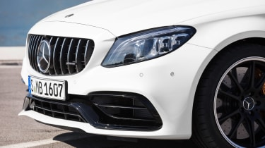 Mercedes-AMG C 63 S Coupe - white grille