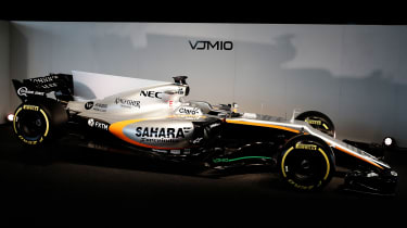 Force India side