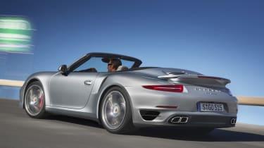 2013 Porsche 911 Turbo side