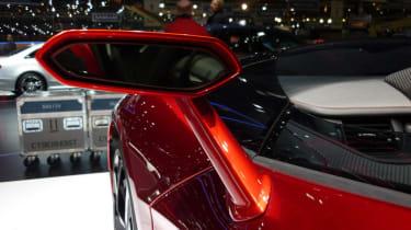 Lamborghini Aventador J wing mirror