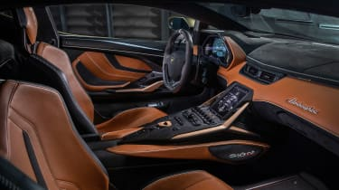 Lamborghini Sian - dash