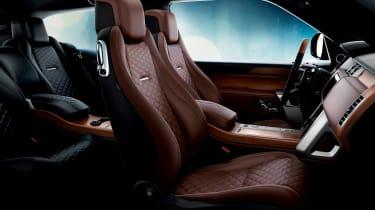 Range Rover Coupe SV - interior brown