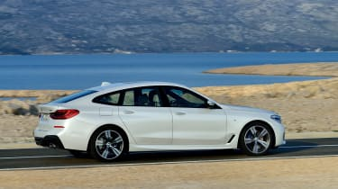 BMW 6-series GT - profile driving 4