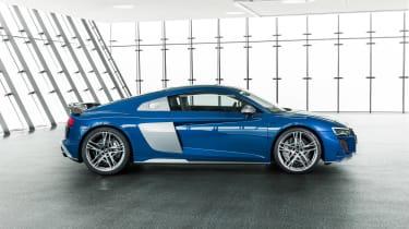 Audi R8 V10 Plus facelift - profile