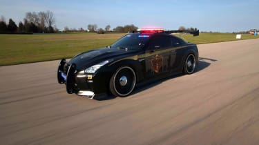 Nissan GT-R Police Pursuit #23 'Copzilla' - Side