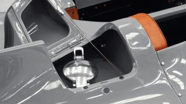 Jaguar D-Type – petrol filler cap