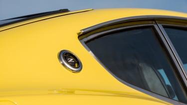 Datsun 240Z rear wing detail