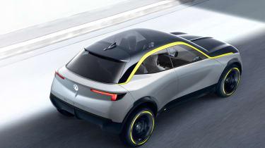 Vauxhall GT X Experiment Concept - rear quarter