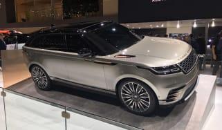 Range Rover Velar - Geneva front three quarter