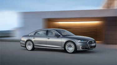 All-new Audi A8 - front 3.4