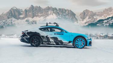 Pirelli winter tyres campaign - Bentley side