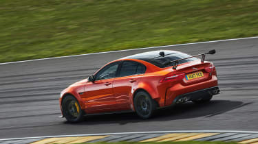 Jaguar XE SV Project 8  side