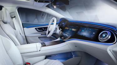 Mercedes-Benz EQS – dash