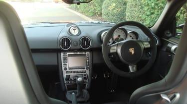 Porsche Cayman Sport interior