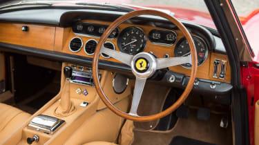 Ferrari 330 GT Bonhams interior
