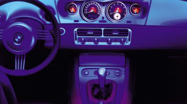 BMW Z8 – centre console