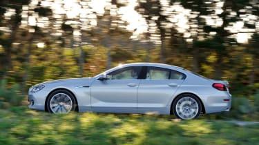 BMW 6-series Gran Coupe side profile