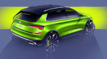 Skoda X drawings – rear