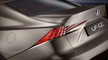 Lexus LF-CC concept back