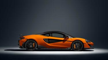 McLaren 600LT full specs - profile