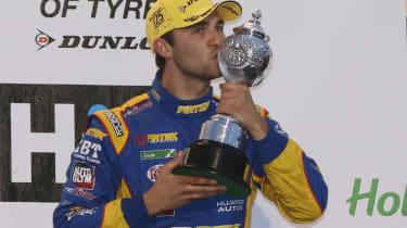 British Touring Cars 2013 champion Andrew Jordan