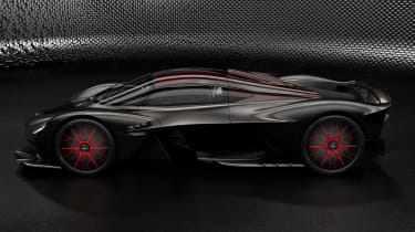Aston Martin Valkyrie Q by AM - black side