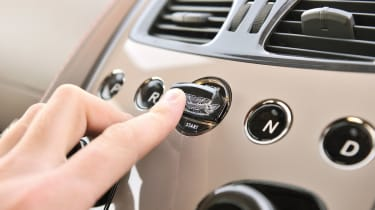 Aston Martin Vanquish starter button key