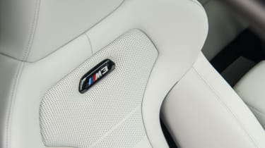 2018 model-year BMW M3 Competition Pack - Seat
