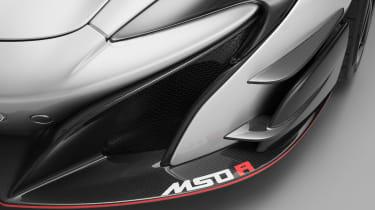 McLaren MSO R - front splitter