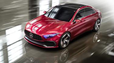 Mercedes-Benz Concept A Sedan top action