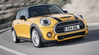 New 2014 Mini Cooper S yellow