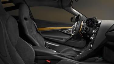 McLaren 720 S Dubai – interior