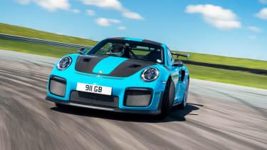 Road-legal supercars – Porsche 911 GT2 RS front