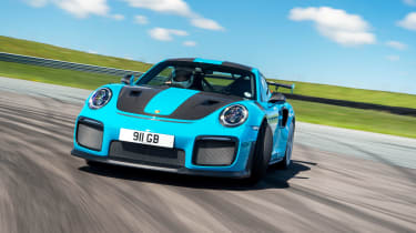 Road-legal supercars – Porsche 911 GT2 RS front
