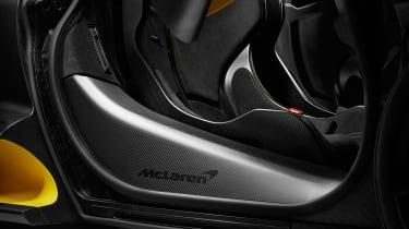 McLaren Senna MSO – sill