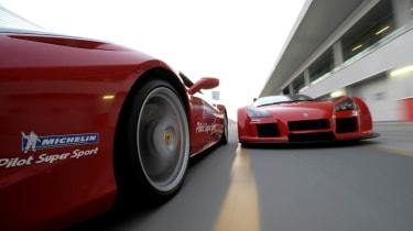 Ferrari and Gumpert
