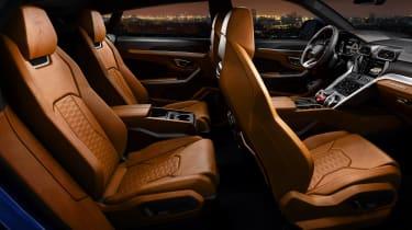 Lamborghini Urus – interior seating layout