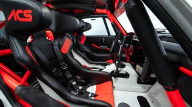 Singer Vehicle Design ACS - beach interior