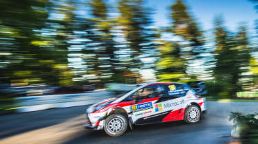WRC Rally Finland - Yaris 3