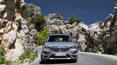 BMW X1 facelift 2019 - nose