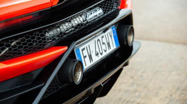 Lamborghini Huracán Evo Spyder – exhaust