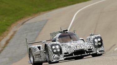 2014 Porsche LMP1 car testing Weissach